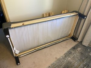 IKEA king size bed frame/box spring for Sale in Redmond, WA