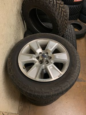 Newer F150 wheels and tires for Sale in Apache Junction, AZ