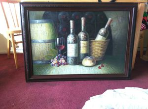 Wine painting for Sale in San Diego, CA