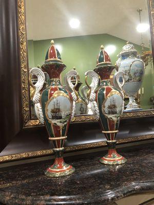 Antique porcelain urns, vases. Limoges. for Sale in Miami, FL