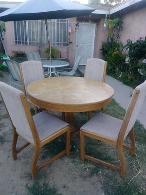 Great table and 4 chairs for Sale in San Diego, CA