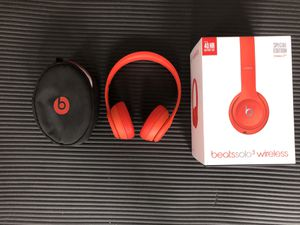 Beats Product(Red) Solo3 wireless headphones for Sale in Tampa, FL