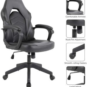 Free Delivery! Racing Computer Gaming Chair with Padding Armrest for Sale in Tempe, AZ