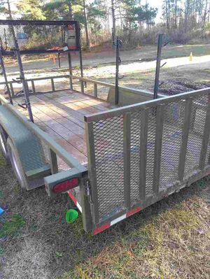 6x12 Army Green Utility Trailer for Sale in Grovetown, GA