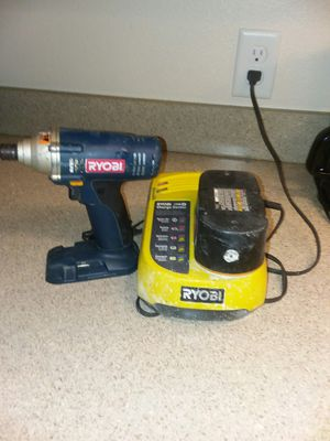 Ryobi P230 18-Volt 1/4-Inch Impact Driver (bare tool, battery and charger included) for Sale in St. Petersburg, FL