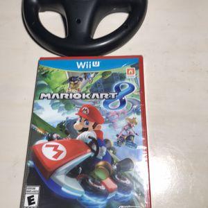 Nintendo Wii U Mario Kart New Never Open for Sale in Grand Prairie, TX