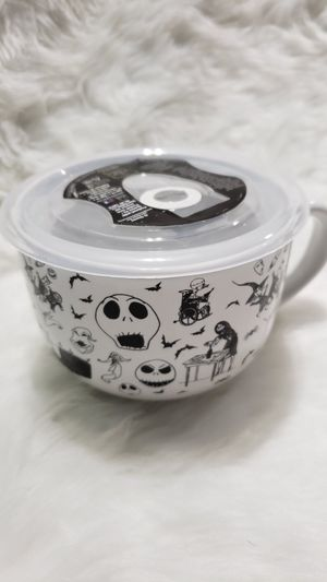 Nightmare Before Christmas Soup Mug Bowl for Sale in Houston, TX