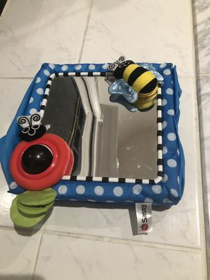 Sassy Baby Mirror - for crib, car seat, car for Sale in Fairfax, VA