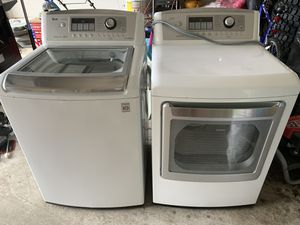 LG washer and dryer set for Sale in Montgomery, AL