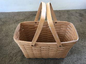 Vintage 1995 Magazine Basket Longaberger Basket for Sale in Riverside,  CA