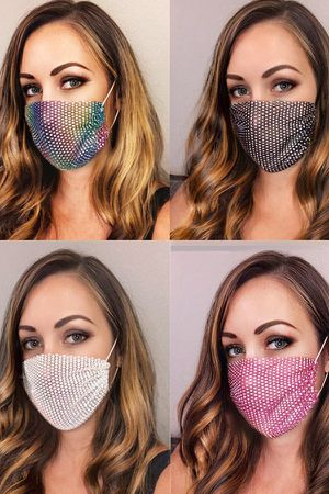 Rhinestone Face Covering for Sale in Whittier, CA