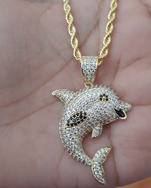 Icedout Dolphin Necklace for Sale in Los Angeles, CA