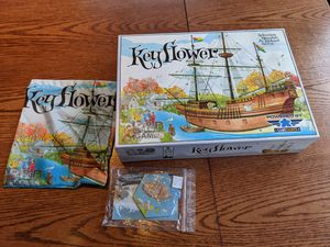 Key flower Board Game with 2 Expansions for Sale in Evergreen, CO