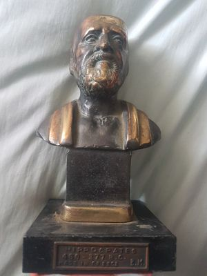 Vintage Hippocrates Bronze Bust for Sale in Los Angeles, CA