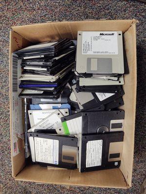 "100+ Old 3.5"" Floppy Disk for Sale in Fresno, CA"