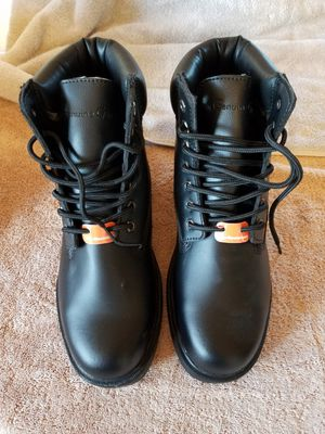 Mens Genuine Grip Steel Toe Work Boot for Sale in Pittston, PA