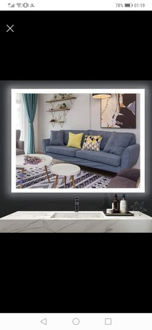36 x 28 Inch LED Lighted Mirror,Wall Mounted(brand new) for Sale in Philadelphia, PA