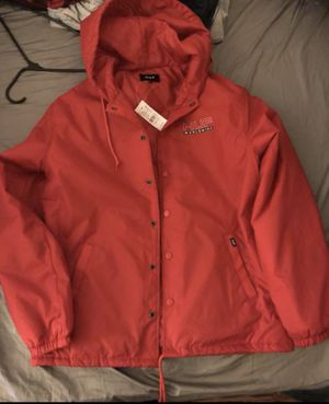 HUF Red Hoodie/Jacket for Sale in Chicago, IL