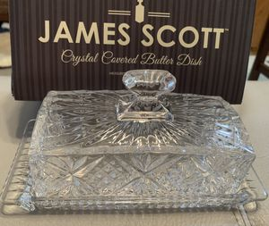 Brand new crystal cover butter dish for Sale in Ocala, FL
