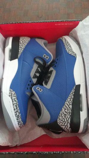 Jordan 3 varsity blue (size 11) for Sale in Burbank, CA