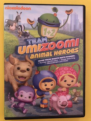 Team UMIZOOMI - Animal Heroes DVD for Sale in Belleville, IL