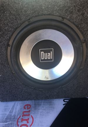 Dual Subwoofer for Sale in Santa Ana, CA