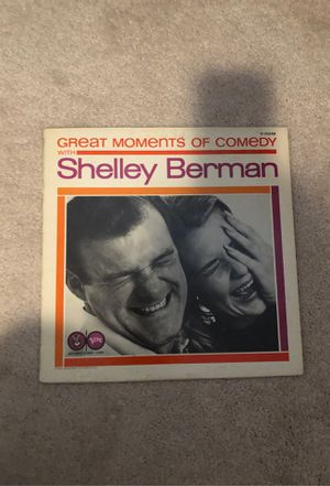 Great moments of comedy with Shelley Berman, record. for Sale in Puyallup, WA