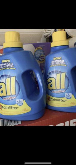 All laundry detergent for Sale in Avondale, AZ