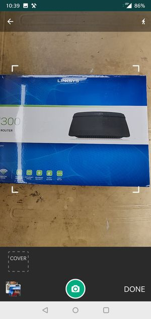 Linkys N300 WiFi Router for Sale in Signal Hill, CA