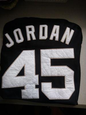 Michael jordan white sox jersey for Sale in Rockville, MD