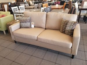 Tan Linen Sofa for Sale in Phoenix, AZ