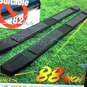 """Spec D tuning black 19-21 Chevy Silverado GMC Sierra 1500 crew cab 6"""" nerf bars step bars for Sale in Greenwood, IN"""