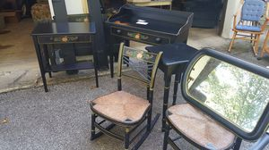 2 Twin bed frames, tables, chairs for Sale in Chardon, OH