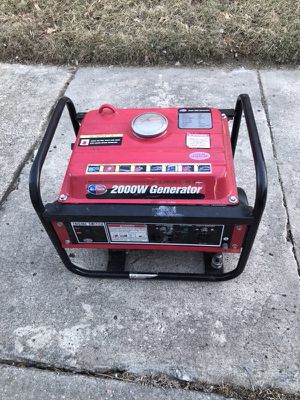 All Power 2000 Watt Generator! Works Perfectly Runs Like New Still! for Sale in Baltimore, MD