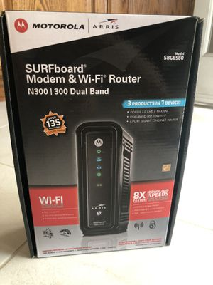 surfboard modem & wifi router n300 for Sale in Azusa, CA