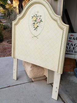Hand Painted Antique Headboard - Twin for Sale in Las Vegas,  NV