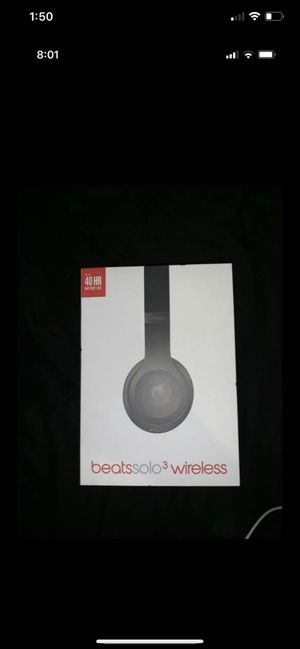 Authentic Beats solo 3 wireless for Sale in Industry, CA