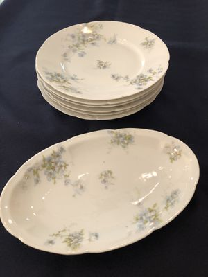 Theodore Haviland Limoges Salad Plates One Relish Plate for Sale in Mobile, AL