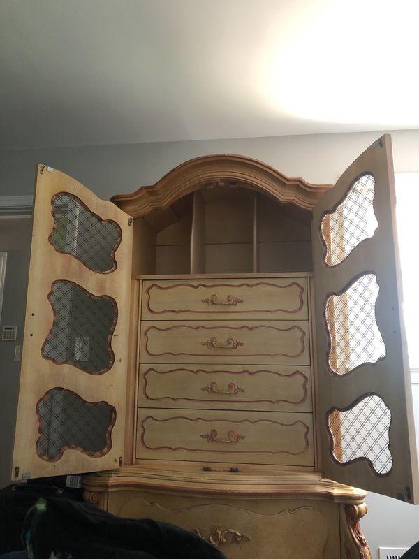 Vintage 6 piece bedroom set