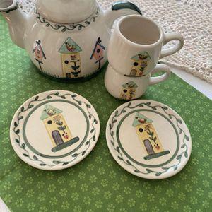 Children's China 6 Piece Tea Set for Sale in Des Plaines, IL