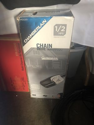 Chamberlain 1/2 hp garage door opener for Sale in San Francisco, CA