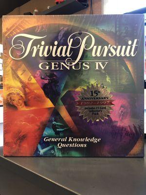 Hasbro Trivial Pursuit - Genius IV (Board Game) for Sale in McKinney, TX