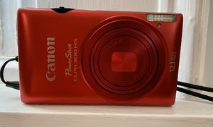 Canon PowerShot Elph 300 HS Red Digital Camera for Sale in Walpole, MA
