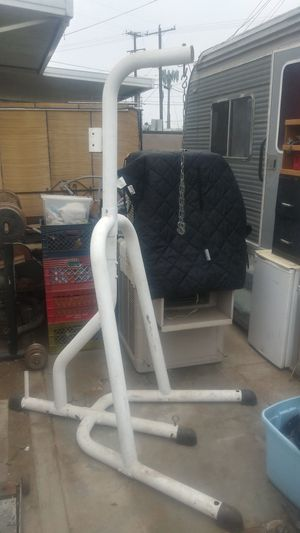 Punching bag stand for Sale in Riverside, CA