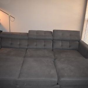 2 Piece Sleeper Sectional Sofa for Sale in Fort Worth, TX