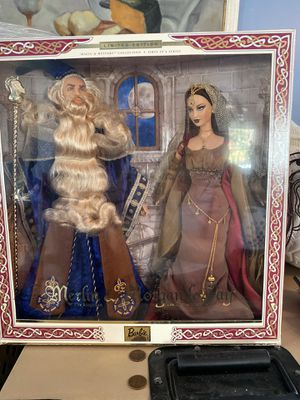 Merlin and Morgan Le Fay Barbie collectibles for Sale in Gulfport, FL