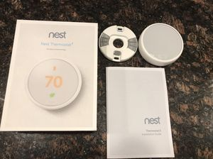 Nest thermostat brand new opened but never used for Sale in Marlborough, MA