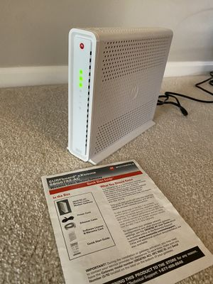 Motorola Surfboard extreme SBG6782-AC wireless cable modem router for Sale in Arlington Heights, IL