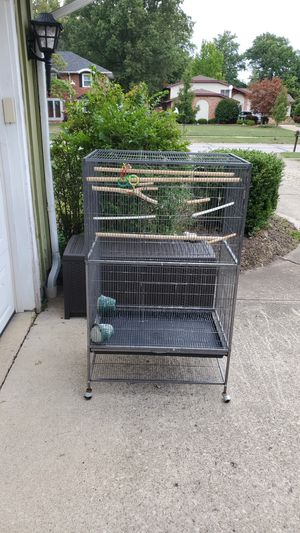 Bird Cage on wheels in Mint condition for Sale in Westlake, OH