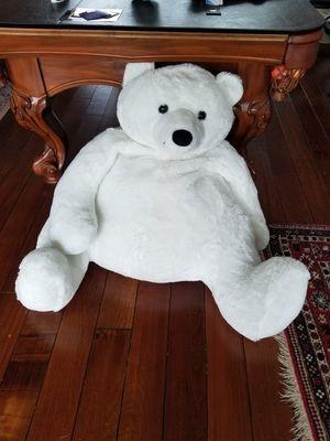 Giant stuffed polar bear! Super clean! for Sale in Boca Raton, FL